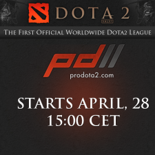 ProDOTA2 starts with a bang