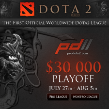 ProDotA2s play-off brackets are complete!
